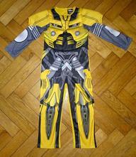Kostým transformers, bumblebee, vel. 5-6 let,
