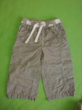 Plátěné kalhoty , next,80