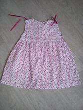 Dětské letní šaty,zn.george,vel.9-12 měs, george,74