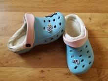 Gumové boty ala crocs s kožíškem, pepperts,33