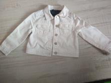 Bílá džínová bunda, george,86