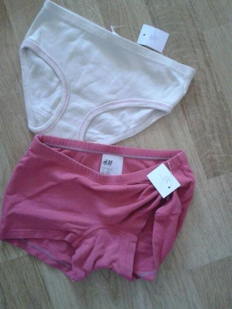 Kalhotky, h&m,110