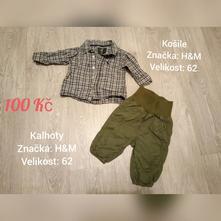 Set košile + kalhoty h&m, h&m,62