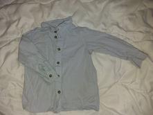 Košile modrá, h&m,86