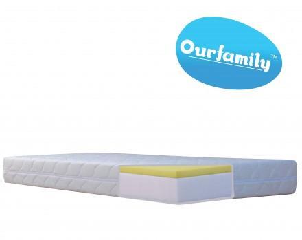 Ourfamily pěnová matrace sara visco - 200x140 cm, 140,200