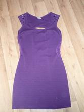 Fialové šaty, m
