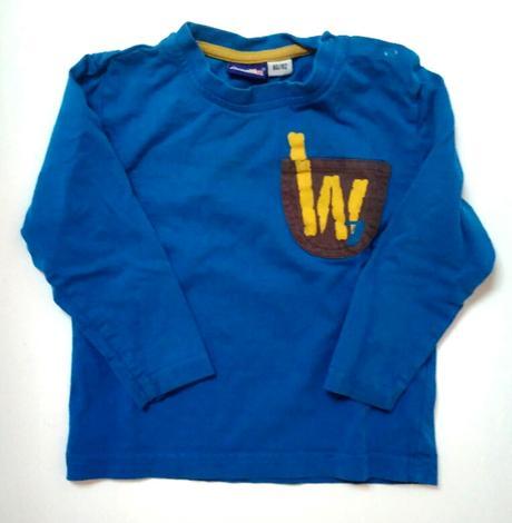 A199 - /modré tričko , lupilu,86