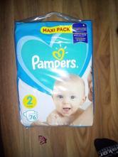 Pampers active baby 76 ks, pampers,4 kg - 9 kg
