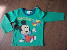 Zelené tričko s mickey mousem, disney,86
