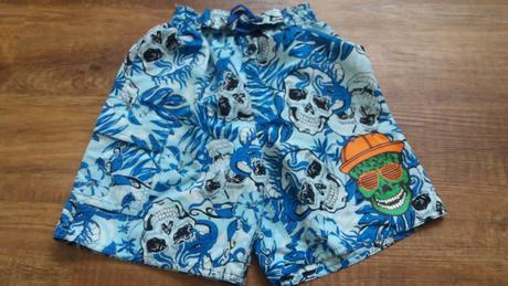 Plavecké modré šortky, okay,116