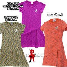Krásné šaty pro holčičky wolf 2019, vel. 98-128, wolf,98 - 128