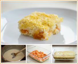 Rýžový nákyp s meruňkami (nebo rýžová kaše v papiňáku)