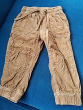 Manzestrove kalhoty podteplene, h&m,86