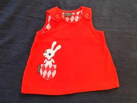 Šatičky littlephant červené, lindex,74