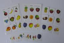 Přiřazovací karty - ovoce,