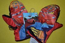 Šusťákové rukavice cars disney, disney,92 / 98 / 104