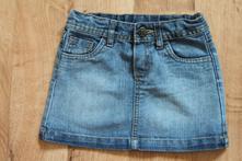 Dívčí džínová sukně 98/104, mothercare,98