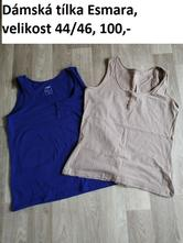 Dámská trička, esmara,44