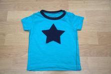 Smaragdové triko s hvězdou, vel. 68/74, next,68