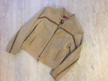 Kožená dámská bunda chevirex, 38