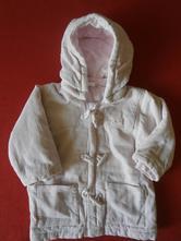 Teplý kabátek, h&m,80