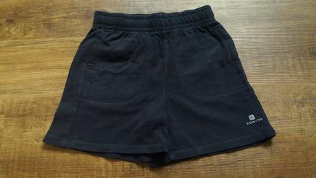 Černé bavlněné kraťasy, domyos,116