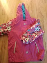 Nepromokavá pogumovaná zateplená bunda, lupilu,110