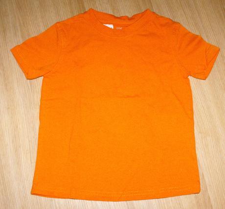 A172. oranžové tričko, kiki&koko,104