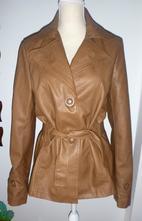 Sako-kabátek z eco kůže- vel.m-l, m