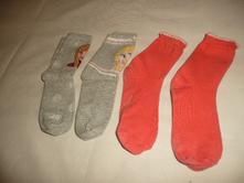 4x ponožky vel 30-34 elsa anna, 30