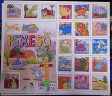 Pexeso - malovaní dinosauři,
