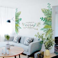 Samolepka na zeď - fresh green,