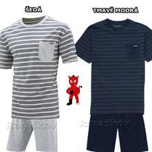 Bavlněné pánské pyžamo, skladem, wolf,l