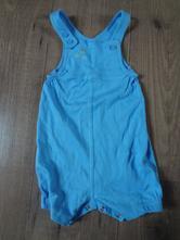 Modré laclové bavlněné kraťasy, miniclub,62