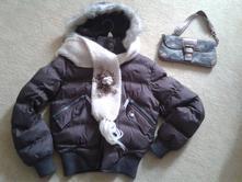 Luxusní bunda axp + šála + kabelka zdarma, m
