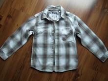 Chlapecká kostkovaná košile c&a vel. 122, c&a,122