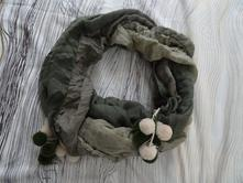 Šátek s minibambulemi, m