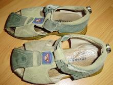 Kožené sandálky, 26
