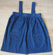 Dívčí džínové šaty vel.128 lindex, lindex,128