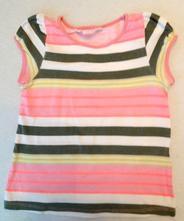 Tričko pruhované vel. 2-4roky, h&m,98