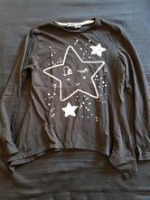 Černé triko s hvezdickou, terranova,122