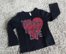 Triko / tričko s dl.rukávem benetton, benetton,80