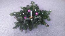 Vánoční svícínek,