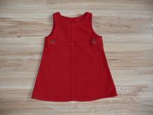 Flaušové šaty, next,98
