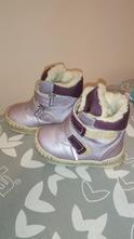 Zimní kožené boty pegres, pegres,22