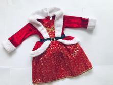 St1/ šaty vánoční - v.1-2 roky, 92