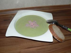 VEČEŘE: krémová pórková polévka