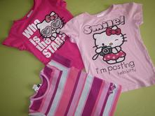 3x tričko  hello kitty, sanrio 104, sanrio,104
