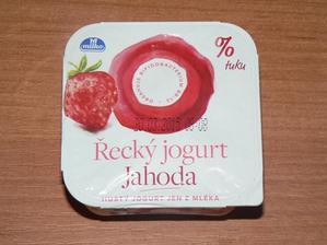 SVAČINA: řecký jogurt jahodový