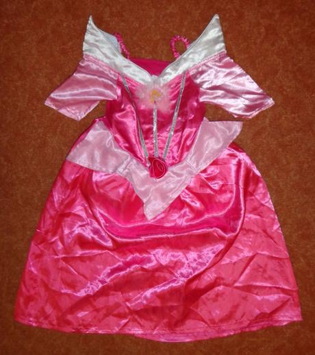 Kostým šaty princezna, vel. 3-4 roky.,